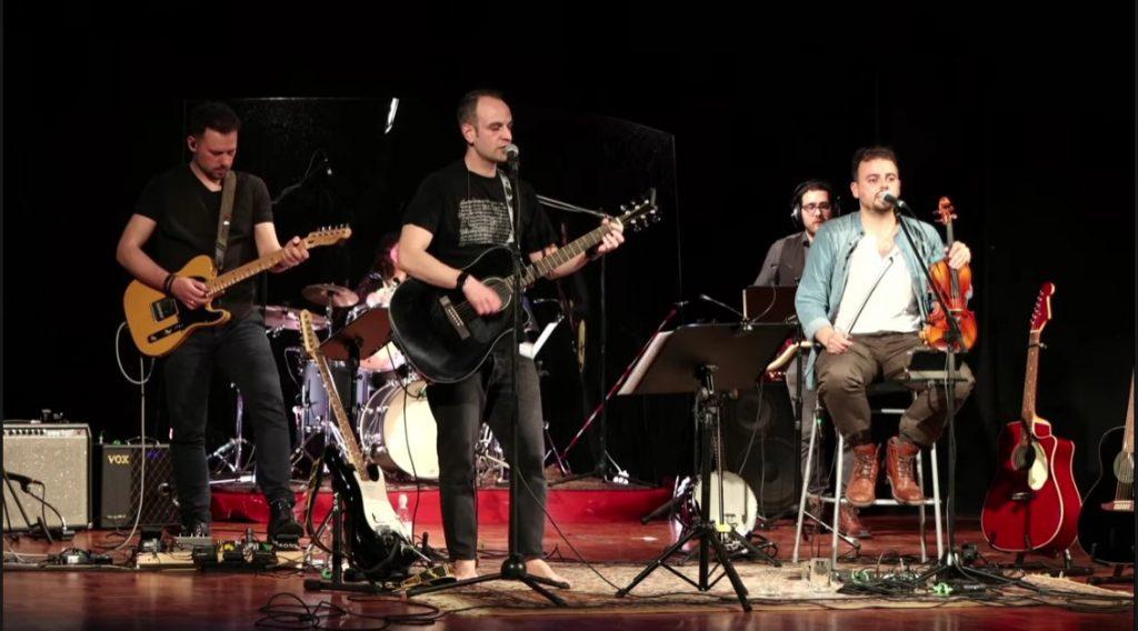 Bruce and Steve al concerto in Fucina Culturale Machiavelli